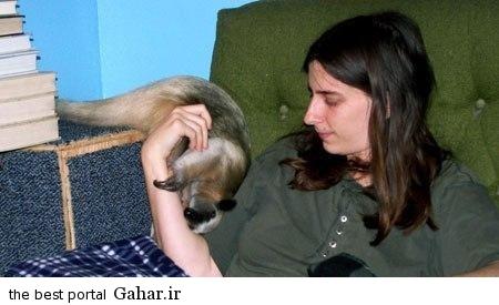 13155369481 حیوان خانگی عجیب یک زن + عکس