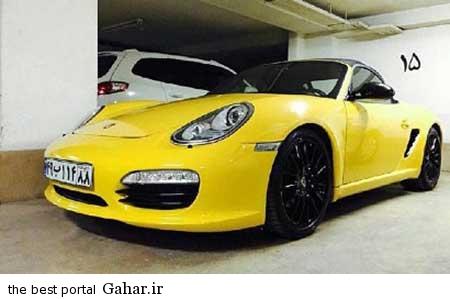 9309 10m3071 ماشین جدید میلیاردی پسر امیر قلعه نویی / عکس