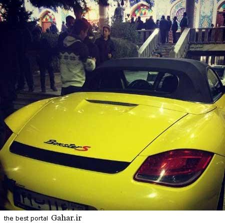 9309 10m3072 ماشین جدید میلیاردی پسر امیر قلعه نویی / عکس