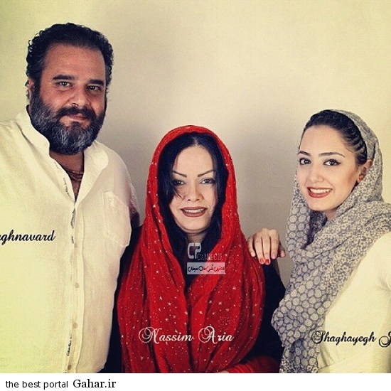 Bazigaran 5017 عکس جدید بازیگران و همسرانشان (آذر 93)