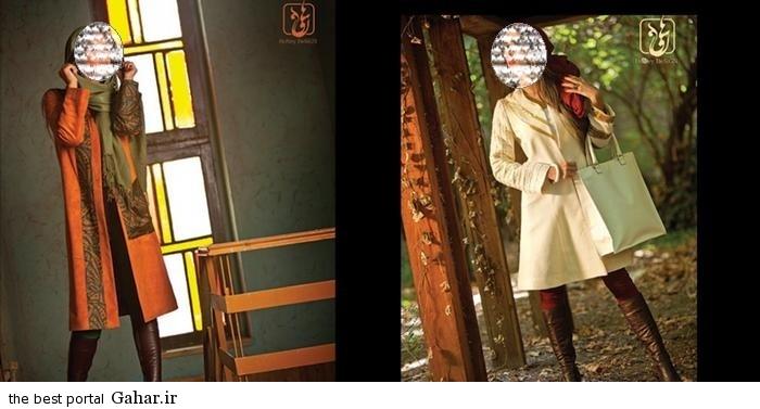 Honey Designes 11 مدل جدید مانتو زمستانی 2015