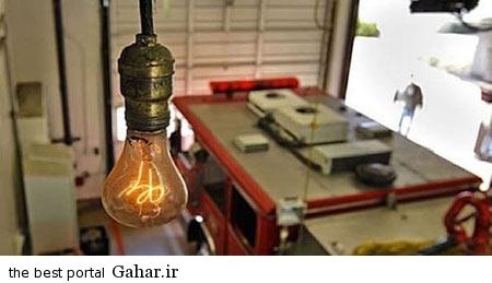 ss93 09 119 لامپی که 110 سال روشن است / عکس