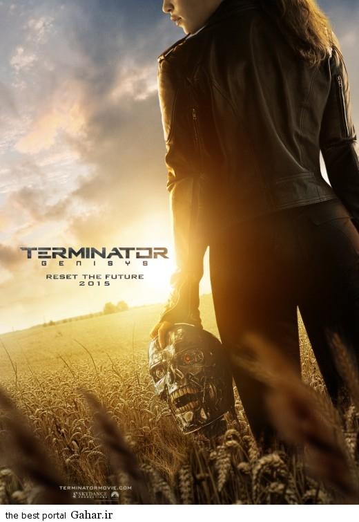 terminator genisys 2015 poster دانلود تریلر فیلم زیبای Terminator: Genisys