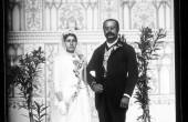 عکس جالب از عروس و داماد زمان قاجار