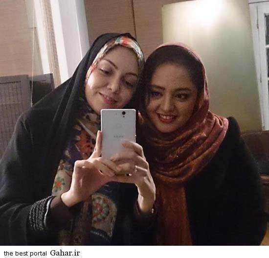 000500 عکس سلفی آزاده نامداری و نرگس محمدی