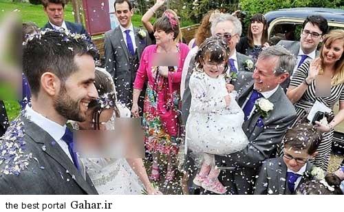 1967137759 parsnaz ir حضور عجیب یک دختر در عروسی + عکس