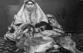 عکس جالب از شکار کردن زنان قاجار