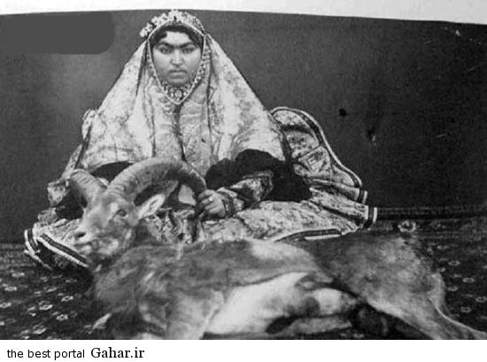 306735 455 عکس جالب از شکار کردن زنان قاجار