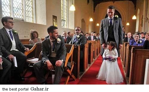 381512359 parsnaz ir حضور عجیب یک دختر در عروسی + عکس