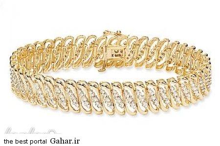عکس هایی از شیک ترین مدل دستبند طلا 2015