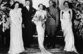 عکس مراسم ازدواج محمدرضا شاه پهلوی با فوزیه