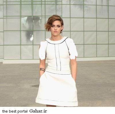 Kristen Stewart Front Row Chanel 7z2VZ3NyG3Nl عکس های کریستین استوارت در فشن شوی پاریس