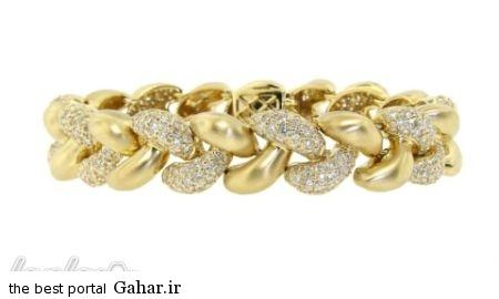 dda836fc94 عکس هایی از شیک ترین مدل های دستبند طلا 2015