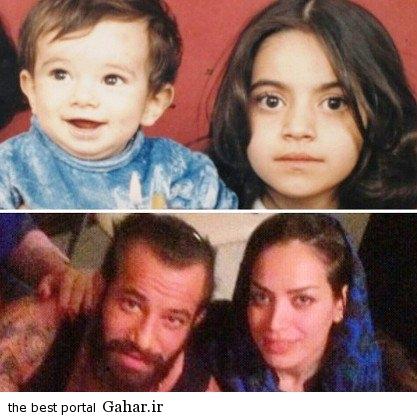 عکس متفاوت امیر تتلو و خواهرش