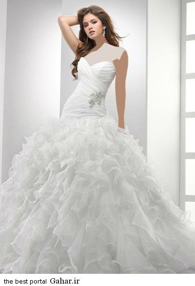 wedding dress 6 مدل لباس عروس شیک 2015