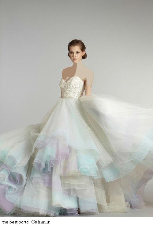 wedding dress 8 مدل لباس عروس شیک 2015