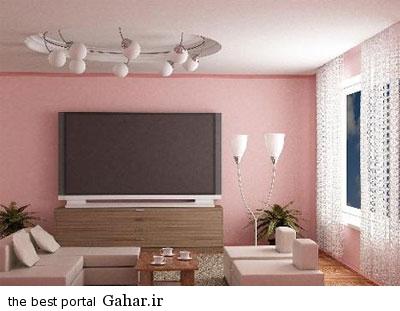 اتاق توصیه هایی برای بهترین و جذاب ترین رنگ اتاق