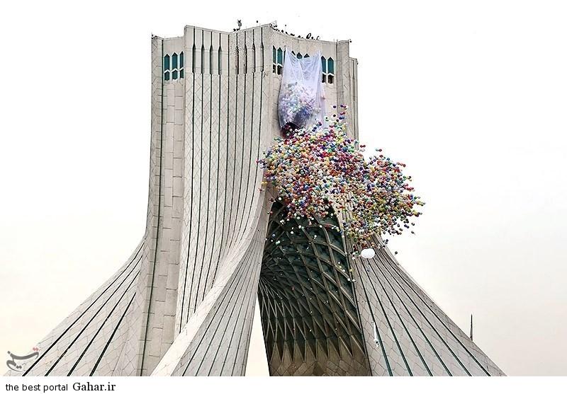 139311221111557934726574 عکس دختران ایرانی در راهپیمایی 22 بهمن 93 میدان آزادی