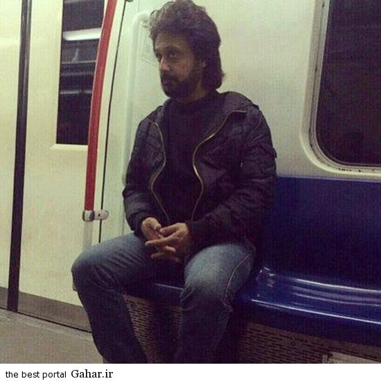60752 6171 حضور داریوش خواننده در متروی تهران!