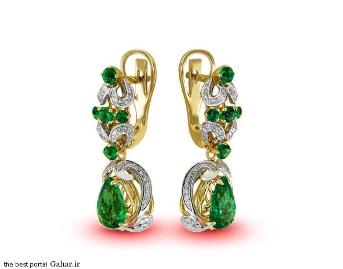 gold earrings girls 10 مدلهایی زیبا از گوشواره طلا دخترانه 2015