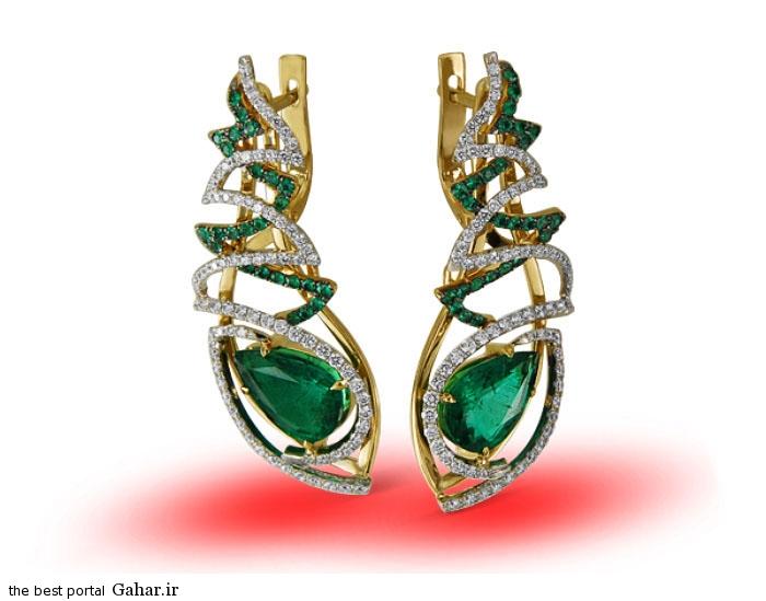 gold earrings girls 11 مدلهایی زیبا از گوشواره طلا دخترانه 2015