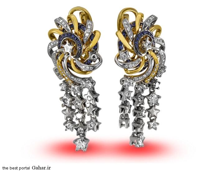gold earrings girls 12 مدلهایی زیبا از گوشواره طلا دخترانه 2015