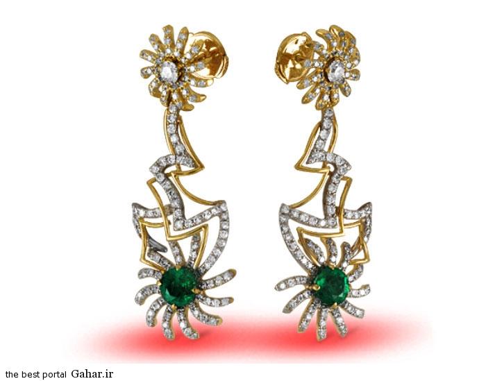 gold earrings girls 13 مدلهایی زیبا از گوشواره طلا دخترانه 2015