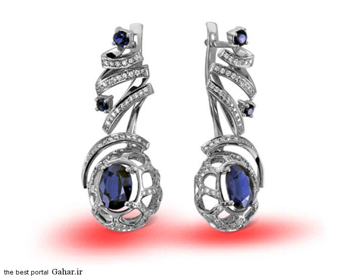 gold earrings girls 14 مدلهایی زیبا از گوشواره طلا دخترانه 2015