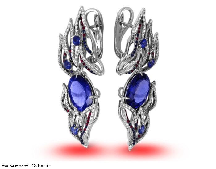 gold earrings girls 18 مدلهایی زیبا از گوشواره طلا دخترانه 2015