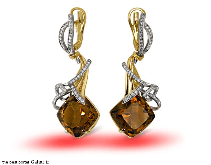 gold earrings girls 19 مدلهایی زیبا از گوشواره طلا دخترانه 2015