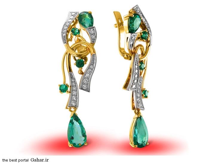gold earrings girls 2 مدلهایی زیبا از گوشواره طلا دخترانه 2015