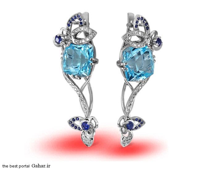 gold earrings girls 21 مدلهایی زیبا از گوشواره طلا دخترانه 2015