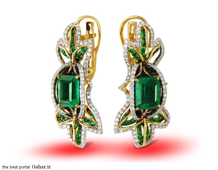 gold earrings girls 22 مدلهایی زیبا از گوشواره طلا دخترانه 2015