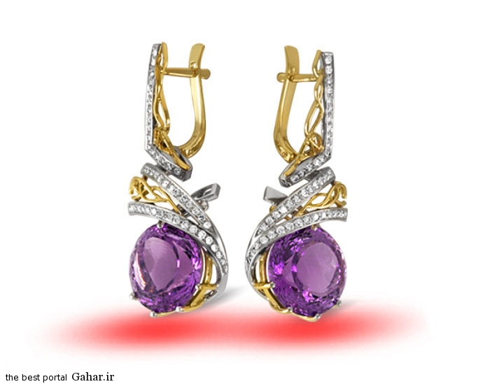 gold earrings girls 3 مدلهایی زیبا از گوشواره طلا دخترانه 2015