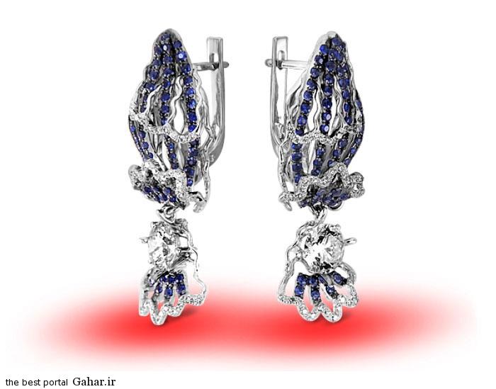 gold earrings girls 6 مدلهایی زیبا از گوشواره طلا دخترانه 2015