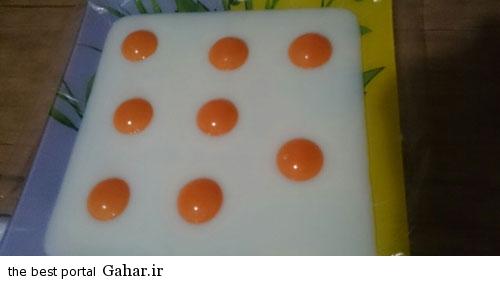 news93580pic4 2015 2 16 10 11 طرز تهیه ژله به شکل نیمرو