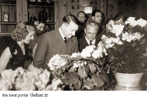 news93803pic1 2015 2 21 13 40 عشق زیبای هیتلر و همسرش