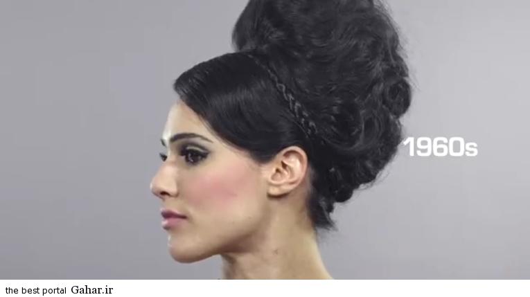photos iranian girl 10 سیر تحول آرایش دختران در صد سال گذشته/عکس