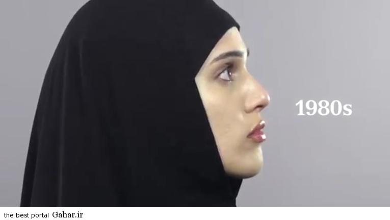 photos iranian girl 14 سیر تحول آرایش دختران در صد سال گذشته/عکس