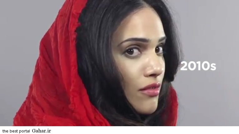 photos iranian girl 19 سیر تحول آرایش دختران در صد سال گذشته/عکس