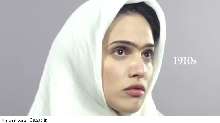 photos iranian girl 2 سیر تحول آرایش دختران در صد سال گذشته/عکس