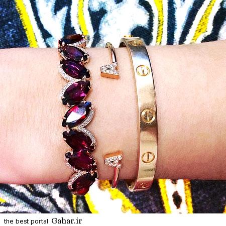 رنگ سال 94 1 عکس هایی زیبا از مدل جواهرات به رنگ سال 2015