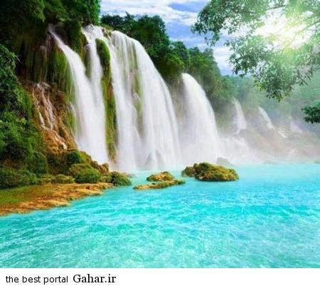 زیبا 5 عکس های بسیار زیبا از زیباترین آبشارهای دنیا