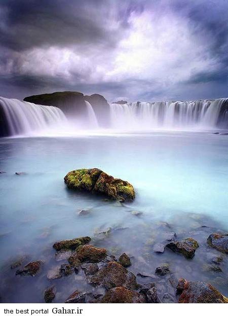 زیبا 9 1 عکس های بسیار زیبا از زیباترین آبشارهای دنیا
