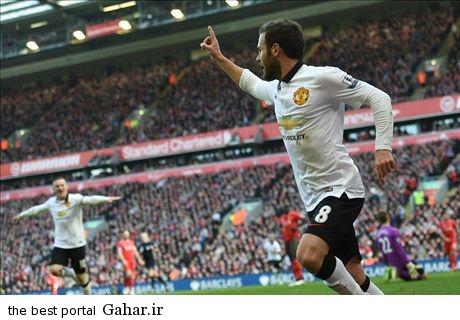 01025817 پیروزی منچستر یونایتد مقابل لیورپول