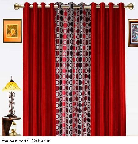 Marsala Color Curtain 3 عکس هایی زیبا از مدل پرده ویژه نوروز 94