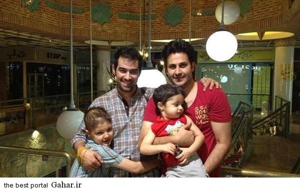 family hooseini shahab صحبت شهاب حسینی درباره خبر بیماری سرطان پسرش / عکس