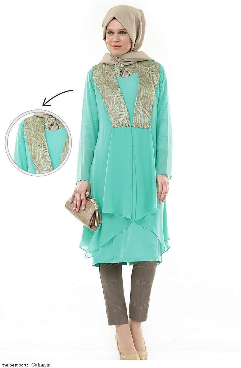 hijab formal dressww abartazeha ir 201 عکس هایی از مدل لباس مجلسی زنانه با حجاب