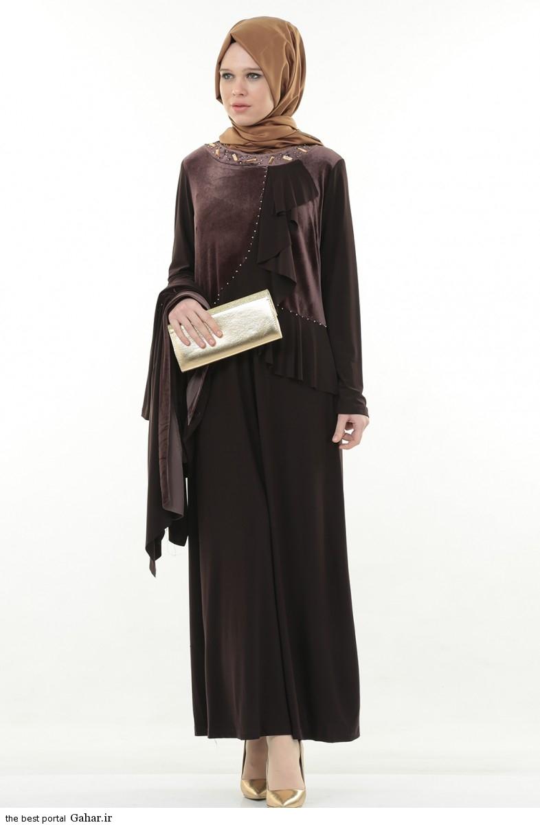 hijab formal dressww abartazeha ir 202 عکس هایی از مدل لباس مجلسی زنانه با حجاب