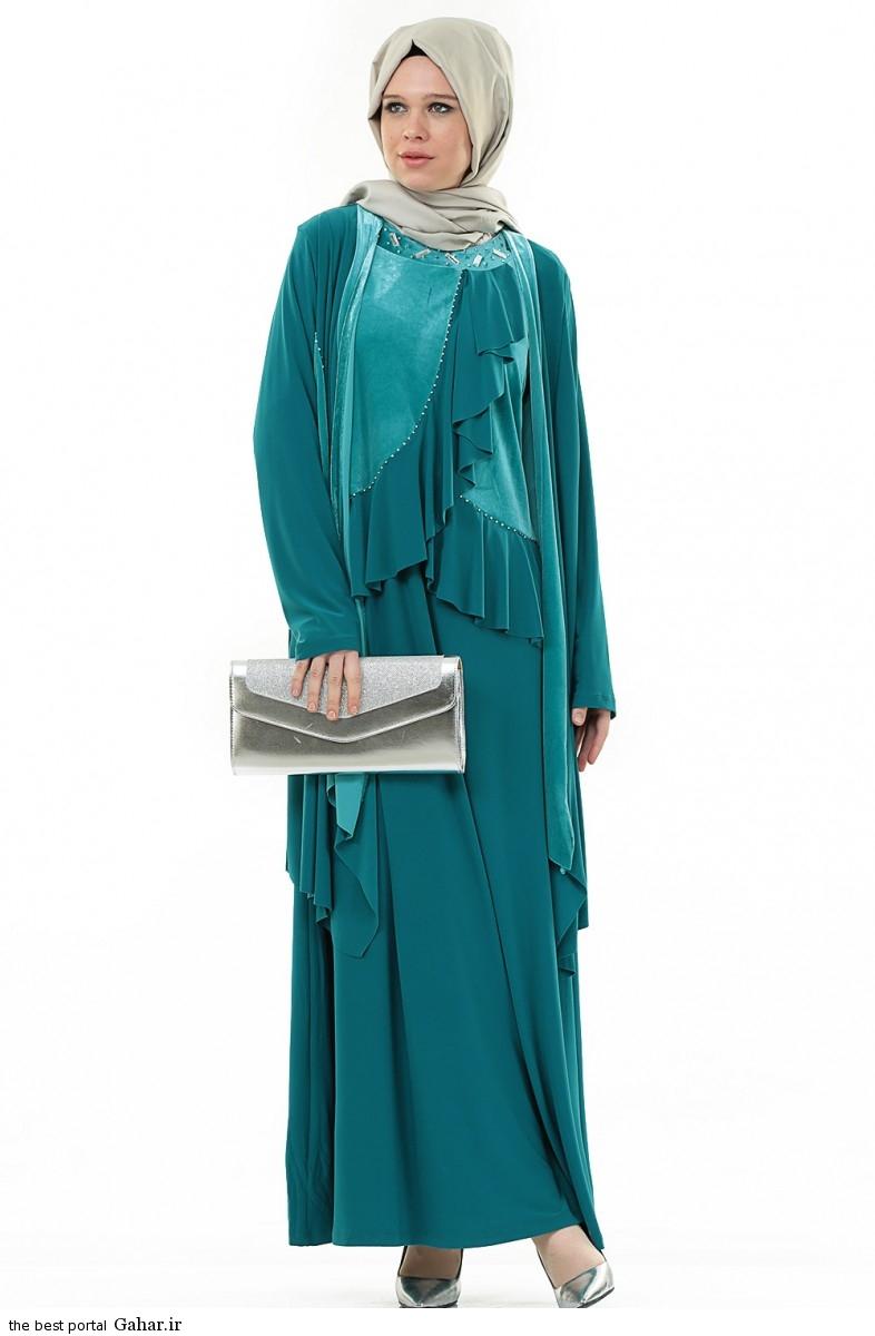 hijab formal dressww abartazeha ir 203 عکس هایی از مدل لباس مجلسی زنانه با حجاب